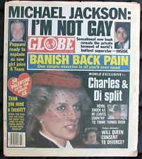 Michael Jackson Tabloïd GLOBE Journal I'M NOT GAY Newspaper USA Magazine 1984
