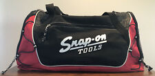 """Snap On Tools 22"""" Duffle Bag Strap Travel Sports Gym School Carry On Luggage EUC"""