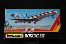 YM050 MATCHBOX 1/280 maquette avion 40802 Boeing 727
