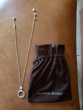 Marco Bicego Jaipur Disk 18k white gold necklace