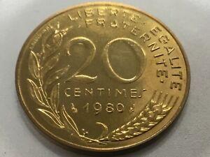 20 centimes marianne 1980