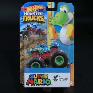 Hot Wheels - Monster Trucks - Super Mario - Yoshi - Brand New