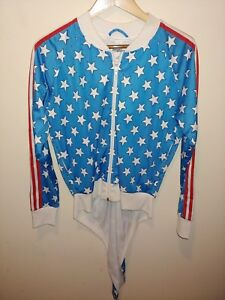 Jeremy Scott Adidas American Flag Collection Track Tail Jacket XS