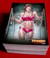 WITCHBLADE - COMPLETE BASE SET of 72 CARDS - Breygent Marketing 2014