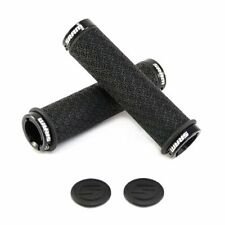 SRAM DH Silicone Locking Grips , 33 x 130mm , Double Clamps , Black