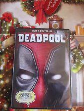 NEW Sealed DVD + Digital HD Movie Marvel Deadpool Ryan Reynolds Gag Reel