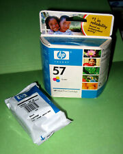 GENUINE HP 56 BLACK & 57 TRI COLOR CARTRIDGES -OUTDATED