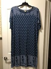 Lucky BRAND Plus Size 2x Comfy Tee Dress Retail