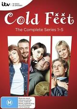 Cold Feet : The Complete Series 1-5   Boxset : NEW DVD