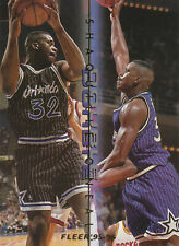 Shaquille O'Neal - 1995-96 Fleer DOUBLE DOUBLES - # 10 of 12 - FREE SHIPPING!