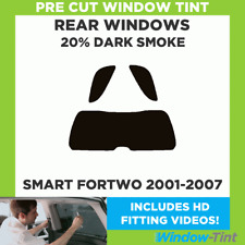 SMART FORTWO 2001-2007 20% DARK REAR PRE CUT WINDOW TINT