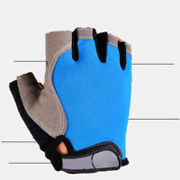Unisex Breathable Anti-Slip Outdoor Bike Bicycle Cycling Half Finger Gloves Hot