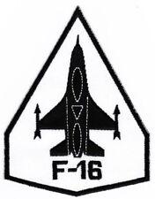 Ao82 f-16 Fighter ricamate AEREO JET razzo STAFFA immagine Patch 8,5 x 11 cm