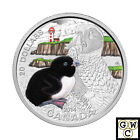 2014 'Atlantic Puffin - Baby Animals' Colorized Proof $20 Silver Coin (14006)