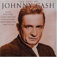 "JOHNNY CASH ""THE BEST OF"" CD 22 TRACKS NEU"