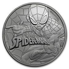 2017 Tuvalu 1 oz Silver $1 Marvel Series SPIDERMAN™ BU - SKU #151572