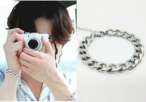 Kpop Idol BTS Jungkook Ace Bold Chain Surgical steel Bracelet