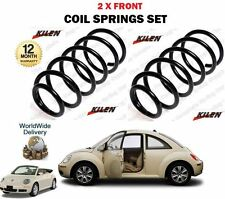 FOR VOLKSWAGEN VW NEW BEETLE + CABRIO 1998-->ON NEW 2 X FRONT COIL SPRINGS SET