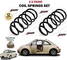 Per VOLKSWAGEN VW New Beetle + Cabrio 1998 -- > Su Nuovo 2 X Anteriore Molle a Spirale Set