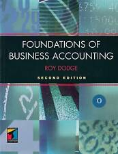Foundations of Business Accounting, Roy Dodge, Excellent