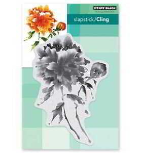 Becoming / Blumenstrauß - Cling-Stamp - Stempelplatte von Penny Black (40-598)