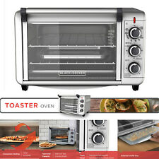 CONVECTION OVEN Baking Pizza Stainless Steel Commercial Countertop Toaster