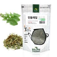 Medicinal Korean Herb, Dandelion Loose Leaf 민들레 잎 Dried Loose Leaves 3oz / 86g