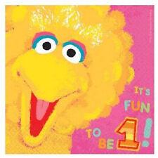 Sesame Street 36 Lunch Napkins Value Pack 1st Birthday Big Bird