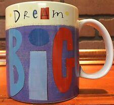Square One Hallmark Dream Big Ceramic Coffee Mug Stock 630