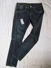 KILLAH by miss sixty BLUE JEANS DENIM w28/l32 Low Waist Regular Fit Tapered LEG