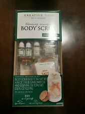 Creative You - Do It Yourself - Body Scrub Kit (Blooming Orange) Nib!