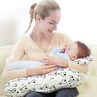 Feeding Pillow U-Shape Maternity Breastfeeding Nursing Baby Support Cushion Pink