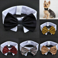 Adorable Dog Cat Pet Puppy Cute Kitten Fashion Bow Tie Clothes Necktie Collar
