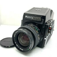 Mamiya M645 Film Camera + Sekor C 55mm f2.8 N + 120 Film Back From JAPAN 064