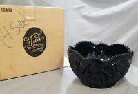 Vintage Tiara Exclusives Black Monarch * 1/2 inch Serving Bowl (circa 1980s)