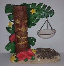Yankee Candle Tiki Hut Tart Warmer RARE & RETIRED