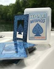 Hoyle Waterproof Clear Plastic Playing Cards Poker Size Deck Flexible & Durable
