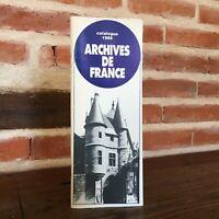 Catálogo 1988 Archivos de France