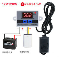 12V 24V 110V-220V Digital Humidity Controller Switch hygrostat Hygrometer Sensor