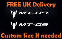 2x Yamaha MT-09 Sticker Motorcycle Fairing SportsBike Tank MT03 Decal #234