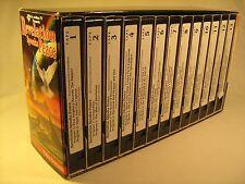 13 Tape VHS Set REVELATION SPEAKS PEACE S Boonstra & H Feyerbend 2002 [Z12a6]
