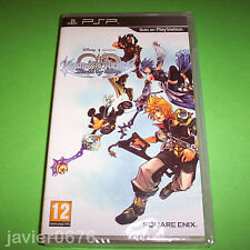 KINGDOM HEARTS BIRTH BY SLEEP NUEVO PRECINTADO PAL ESPAÑA PLAYSTATION PSP