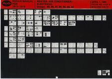 Audi FOX 1973-79_Repair Manual_heater-electrical-air conditioner_Microfich_Fich