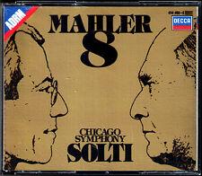 Sir Georg SOLTI: MAHLER Symphony No.8 Harper Popp Auger Minton Watts DECCA 2CD