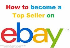 HOW TO BECOME A TOP SELLER  ON eBay TOOLS & TIPS FOR MAKING EXTRA $$$ PDF eBOOK
