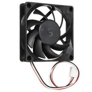 70mm Chassis Crystal CPU Cooler 3 Pins Cooling Fan FIT for Computer PC Host IDE