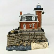 1999 Harbour Lights Hudson-Athens New York Ny #230 Lighthouse Figurine Fw20