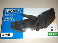 Nitril Einmal Handschuhe M in Schwarz
