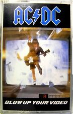 AC/DC BLOW UP YOUR VIDEO MUSICASSETTA MC K7 HARD ROCK Angus Young Atlantic 1988
