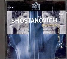 SHOSTAKOVICH - String Quartets 3 / 7 / 8 - BORODIN STRING QUARTET - Virgin